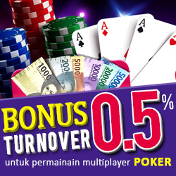 Bonus Turn Over Poker IDN
